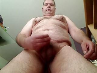 Chubby masturbating...