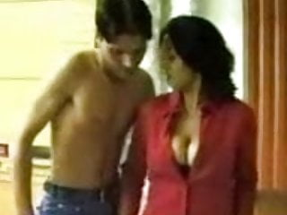 Arab milf takes advantage of nude boy...