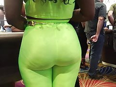 Candid Ass Slim Thick Booty in Spandex 21 4K Repost