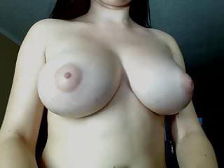 Amazing body busty masturbating...