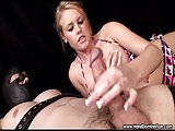 total cock control by blonde goddess