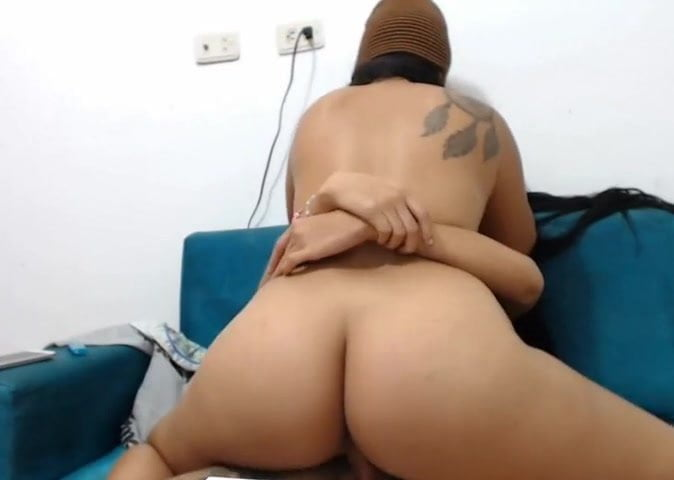Black Shemale Fucks Guy Ass