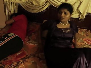 Nylon Indian Lingerie video: Satin Silk 447