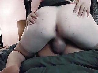 Tranny duo fucking each other hot n thick...