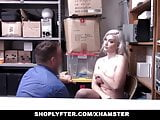 ShopLyfter -Busty Emily right Fucked By The Security Officer