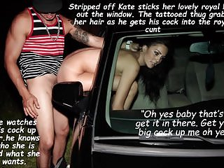 Kate enjoys hot car sex fake...