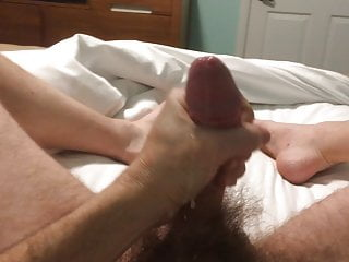 it my cock and jacking Bouncing off
