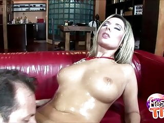 Colossal Jugs Daria Glower Penis Sucking Session
