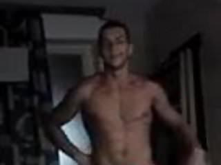 Bulgarian turk posing flexing...