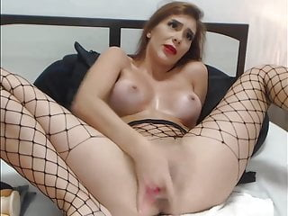 leads Dildo ass to pounding Squirt Big