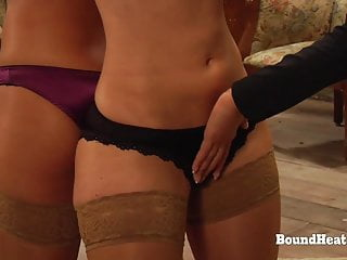 Two Women Punished By Reverse Function Enjoying Lesbian Slave