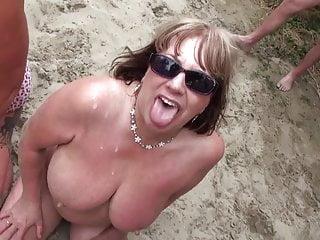 Beach bukakke...