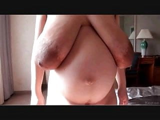 Asian titties so fat you can see them...