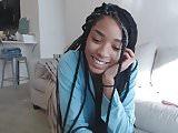 black girl cumshow