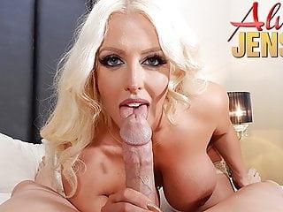 Busty blonde alura jenson gets fucked in pov...