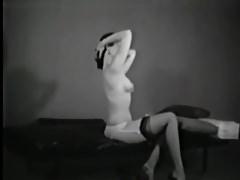 Girl vintage stag