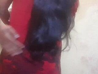 Lal dress mein Gajab lag rahi ho sexy girl  love sex  boy