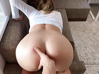 Busty babe blowjob and sex pov...