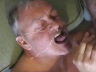 Cum eating dad...