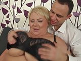 Busty mother fucks young pal