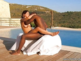 Africans making love outdoors in africa...