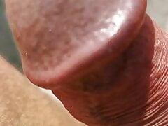 Masturbation on the beach with my panties on 6