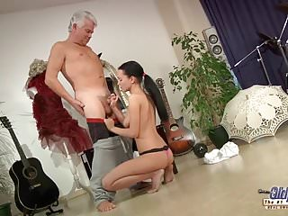 Dirty Dancing Old dance instructor anal fucks young girl