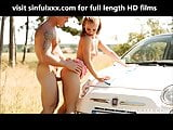 Beautiful couple in outdoor sex video SinfulXXX