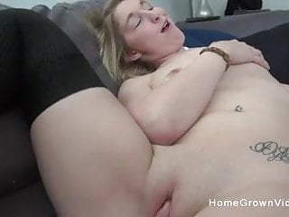 Tall amateur blonde is ready to have her pussy stuffed