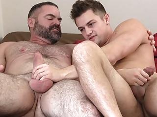 Jock with bear...
