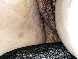 Licking my creampie wifes...