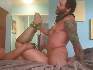 Eddie Rough Fucks bound tied up Uses young Pussy with anal