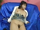 Delicious creampie to a japanese big boob girl