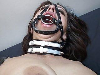 Hogtied Piercing Slave video: BDSM pierced fucking fetish anal