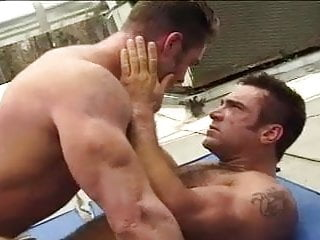 Wrestle and fuck...