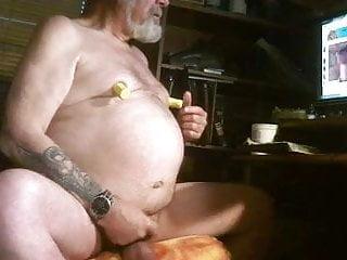 Jacking to porn...