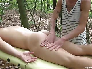Hot outdoor and massage...
