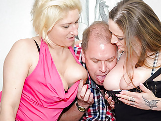 Amateur euro adrienne kiss amp oda amelie has...