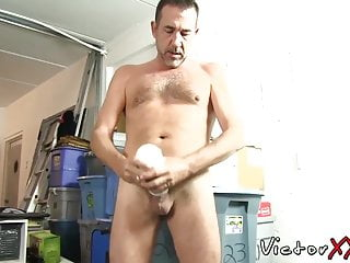 Daddy in solo action...