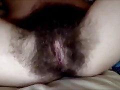 Full Hairy Pussy