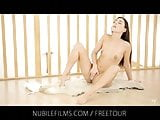 Nubile Films - Tiny tits and moist pussy crave intense pleas
