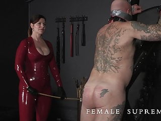 with Essex Femdom caning Baroness