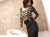Asiatica Cogida en #Falda ajustada