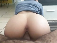 Asian GF takes BBC for lunch