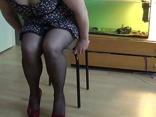batmannu in black stockings