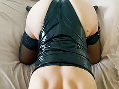 Latex Milf gets Fucked by a Tinder Date