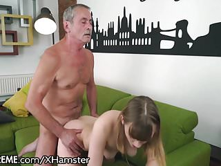 21Sextreme Grandpa Sticks in In Little Blonde Teen
