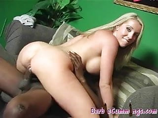 Barbie Cummings trying to get pregnant from black jizz