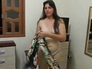 Indian bitch stripping huge jugs