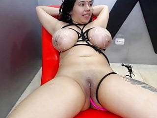 girlfriends tie boobs and lick pussy